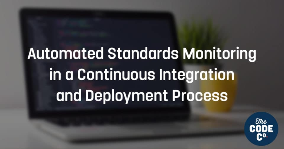 Automated Standards Monitoring in a Continuous Integration and Deployment Process
